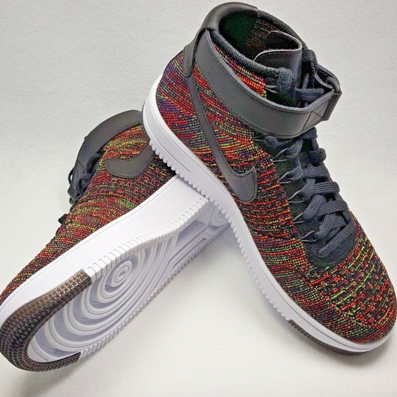 huge discount 8abb3 891cd Air Force 1 AF1 Ultra Flyknit Mid NWT